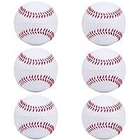 niceEshop(TM) 2pcs Foam Baseball Balls Reduced Impact Safety Softball for Children Teenager Players