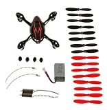 The Hubsan X4 H107C Quadcopter Black/Red Crash Pack