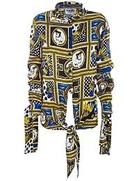 Versus Versace Camicia Donna BD20207BT10932B7343 Viscosa Oro 7f9861a108e