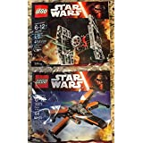 NEW! LEGO STAR WARS THE FORCE AWAKENS 30278 POE'S X-WING + 30276 TIE FIGHTER by LEGO