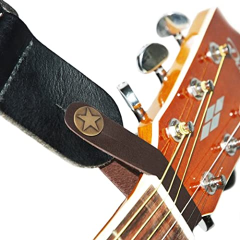 Fretfunk Acoustic Guitar Strap Button (Brown)