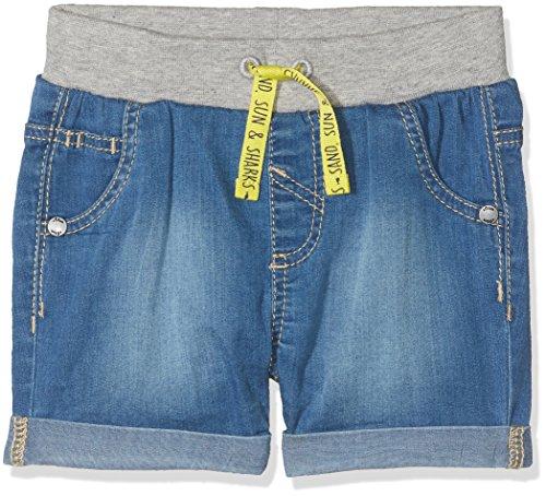 s.Oliver Baby-Unisex Shorts 65.805.72.8977, Blau (Blue Denim Stretch 55z2), 80