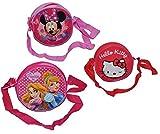 1 Stk. Umhängetasche / Schultertasche - Hello Kitty - Prinzessin - Minnie Mouse - für Kinder abwischbar - Kind Katze Blumen Mädchen Kindergartentasche Tragetasche Kindertasche
