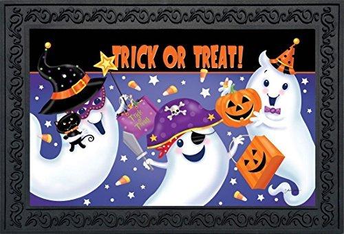 Kostüm Trick Or Bilder Treat - Trick Or Treat Halloween Fußmatte Ghosts Candy Indoor Outdoor 45,7x 76,2cm