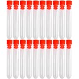 20 unidades no completó scienova tubos de ensayo de plástico con cierre de rosca barra de herramientas,