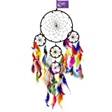 #3: AsianHobbyCrafts Wall Hanging Dream Catcher - Pattern: Tomorrowland (LXB : 60cm x 20cm)