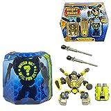 MGA Entertainment Selection Figurines d'action Set | Ready 2 Robot Série 1, Figure:Coffret de Combat Équipe de Lutte