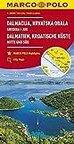 MARCO POLO Karte HR Dalmatien, Kroatische Küste 1: 200 000: Mitte und Süd: Wegenkaart 1:200 000 (MARCO POLO Karten 1:200.000)