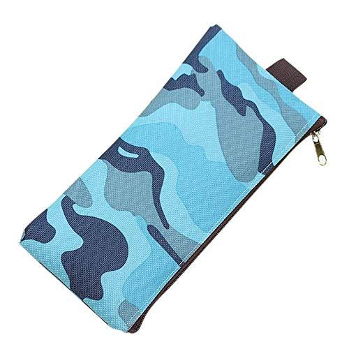 SOMESUN Bürobedarf Schule Federmäppchen Schüler Jungen Mädchen Camouflage Supplies Tasche Geldbörse Federtasche Mini Tasche Trendy Stift Bleistift Ablage -