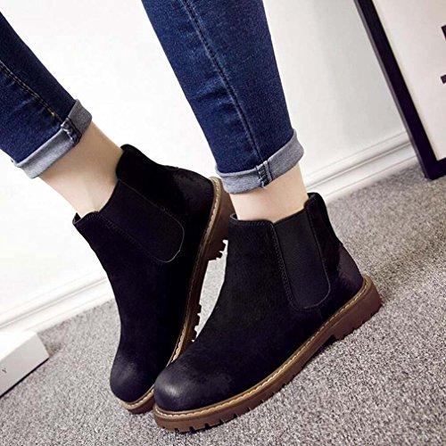 Solshine , chaussures compensées femme Noir 2
