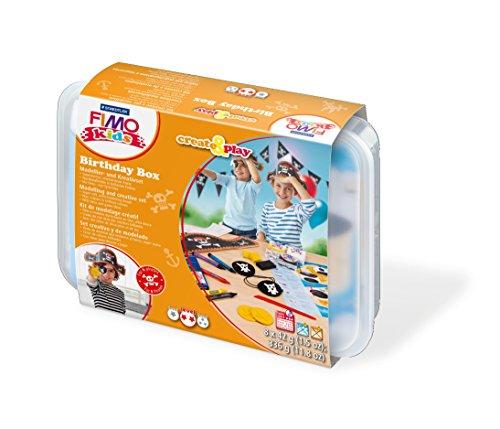 Staedtler Fimo niños crean y juegan 8033 05 Plastilina 42 g Matching , Modelos/colores Surtidos, 1 Unidad