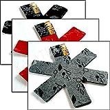 3er Set Pfannenschutz Pfannen Einlage Stapelschutz Kratzschutz Pfannenschoner grau