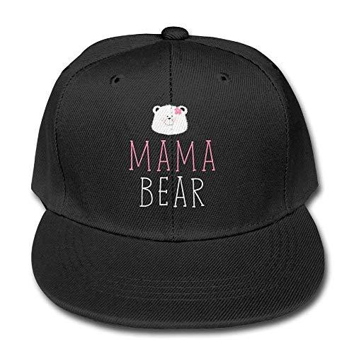 Fashion Home Mama Bear Unisex Snapback Baseball Hats Trucker Solid Color Caps
