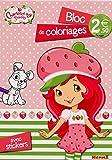 Charlotte aux Fraises - Bloc de coloriages avec stickers