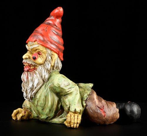 Zombie-Garden-Gnome-Statue-7L-Figurine-Crawling-Undead-Horror-Figurine