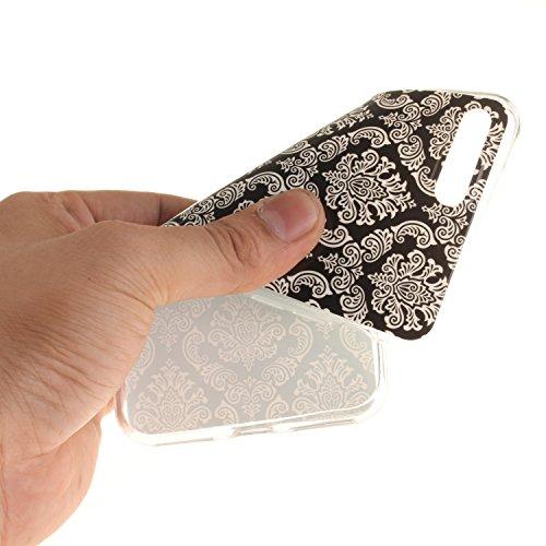 Custodia per iphone 7 Plus Cover Silicone Morbida,Funyye Sottile Protettiva Casa Gomma TPU Gel Copertura con [Pellicola Protettiva] Slim Thin Soft Bumper Shell Skin per Apple iphone 7 Plus 5.5Pollici  Design #8