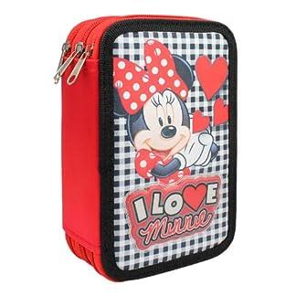 Minnie Mouse – Plumier de 3 Pisos Relleno, 20 x 12 cm (Cerdá 2701-244)