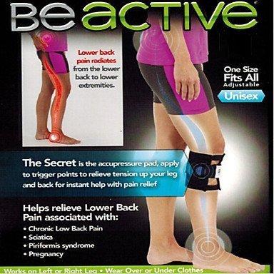 Akupressur Leg Brace für Behandlung von zurück, Hüftschmerzen, Ischias - 2 Stück von Home Care Wholesale®