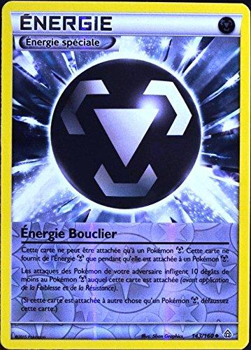 carte Pokémon 143/160 Énergie Bouclier (Énergie Métal) REVERSE XY05 NEUF FR