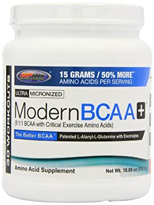 USP Labs 535.5g Modern BCAA Plus Fruit Punch from USPlabs