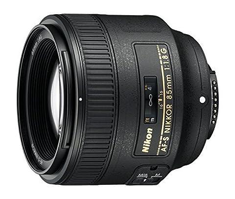 Nikon AF-S NIKKOR 85 mm 1:1,8G Objektiv (Zertifiziert und Generalüberholt)