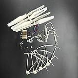 Noradtjcca Pièces de Rechange de Drone de RC de 2.4G RC/Lames de pièces de Rechange de bourdons de Moteurs de Chapeaux de Lame d'échafaudages Accessoires de pièces de quadricoptère