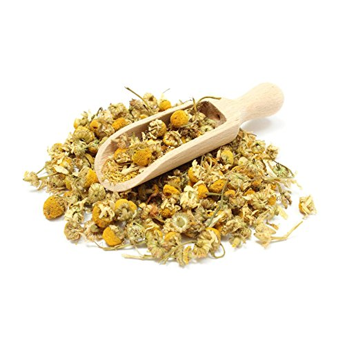 MQH WholefoodsTM Chamomile Dried Flowers Loose Leaf Herbal Tea 100% Pure Organically Grown Premium Quality! Free P&P (100g)