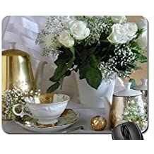 Classic chic Mouse Pad, Mousepad (Flowers Mouse Pad)