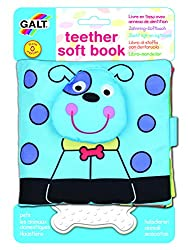 The First Years Galt Toys Inc First Years Pets Teether Soft Book