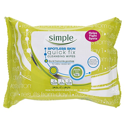Pore Cleansing Wipes (Simple spotless skin cleansing wipes)
