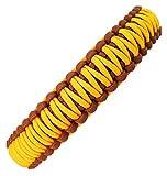 Hundehalsband Sassy-1 aus Paracord, Zugstopper oder Klickverschluß, Individuelle Größe, 3 Farben frei kombinierbar, 3 Zentimeter breit