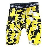 YiJee Hombre Secado Rápido Deporte Pantalones Cortos Aptitud Jogging Compresión XL