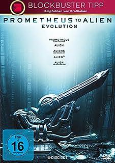Prometheus to Alien: Evolution [5 DVDs]