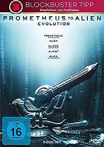 DVD ALIEN 1-4 & PROMETHEUS [Import anglais]: Amazon.fr