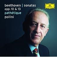 Beethoven: Piano Sonatas Nos. 5-7, Op. 10 Nos. 1-3 & No.8, Op.13