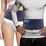 Cintura ernia ombelicale medica di tutti i giorni - per donne e uomini - Borsetta per ernia addominale per ombelico Supporto per ernia dell'ombelico, aiuta ad alleviare il dolore - per l'ernia - L/XL
