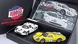 MRRC Sondermod. Twin Set Le Mans m.2 Autos (Chaparral 2F+Ford GT40 MKIV) $