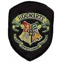 Parche bordado con el escudo de Hogwarts de Harry Potter para coser o planchar, 10 cm