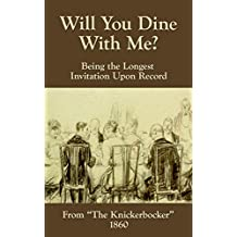Will You Dine With Me? (English Edition)