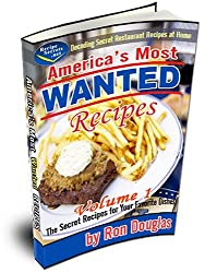 America's Most Wanted Recipes - Volume 1 by Ron Douglas (2003-09-15)