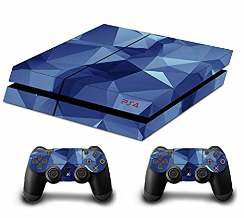 Tarnung Decal Skin Sticker Aufkleber for Playstation 4 PS4 Console Controllers (Diamond Camouflage)
