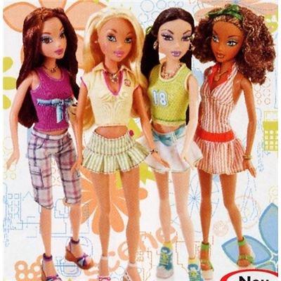 Preisvergleich Produktbild My Scene G6124 - Miami Puppen - Barbie