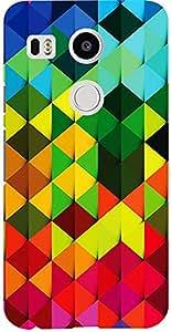 Meetarts Nexus Lg _D90 Mobile Case for Lg Nexus 5X (Multicolor)