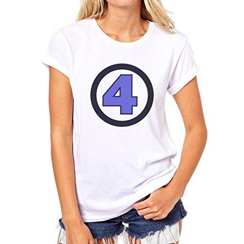 Fantastic Fout Sign Sharp One Damen T-Shirt Weiß