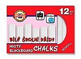 Koh-I-Noor Tableau noir Craie–Blanc (lot de 12)