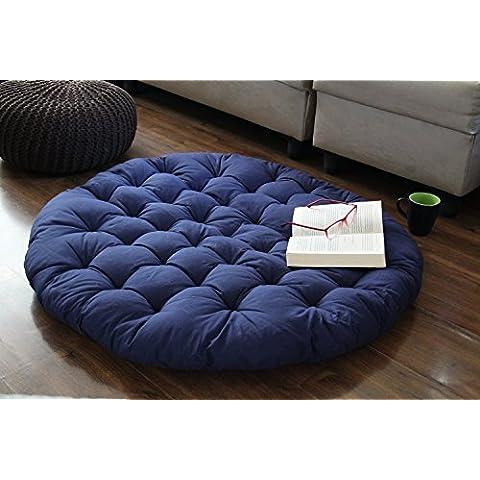 Store Indya, Papasan Ronda Salon silla del asiento de la almohadilla del amortiguador para el maximo