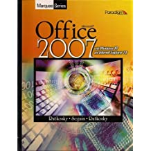 Marquee Office 2007, with Windows XP and Internet Explorer 7.0 (Book & CD-ROM) by Nita Rutkosky (2008-07-30)