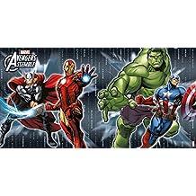 Marvel Avengers Assemble Scène Setter Décoration Murale, 150 x 77 cm
