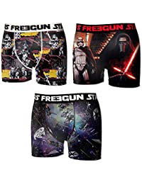 Lot 3 Boxers Freegun Homme Collection Star Wars