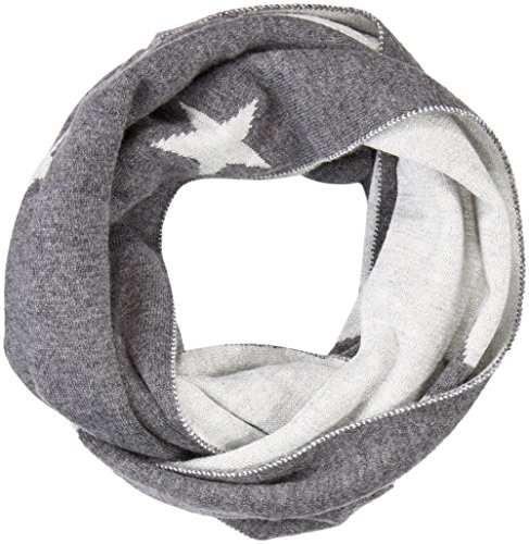 s.Oliver Damen Schal 39711918227, Grau (Grey/Black Placed Print 97D1), One Size